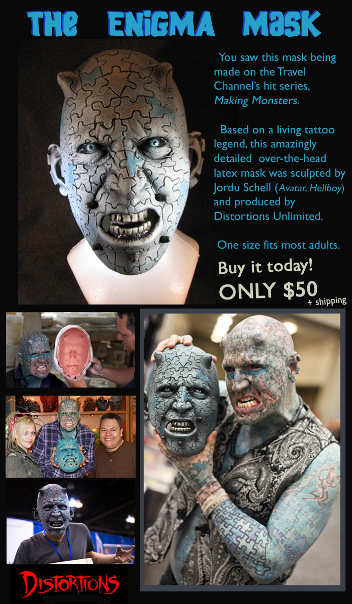 buy an Enigma mask!